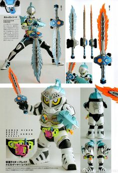 Kamen Rider Brave Lv 1-2