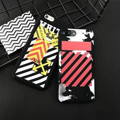 2017 Fashion Brand Rap OFF White soft silicone Phone Case For iPhone 7 7Plus 6s 6 Plus Cool Matte Cover Coque