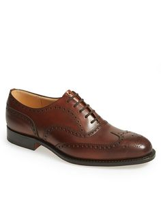 5 Fine Shoes That Will Truly Last You a Lifetime - Church's Wingtips A heavily brogued wingtip is the king of shoes. Keep them brown to add a European elan to your suits. Chetwynd wingtip ($725) by Church's, nordstrom.com