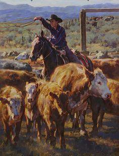 """Young Roper"" by Jason Rich (Cowboy Artist)"