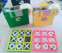 reciclar disquets