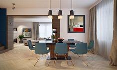 Projekt domu Karat 5 156,82 m2 - koszt budowy - EXTRADOM Mediterranean Style Homes, Planer, Living Room Designs, New Homes, Exterior, House, Furniture, Home Decor, House 2