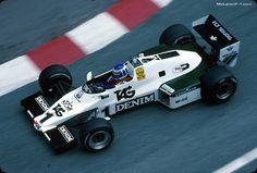 Keke Rosberg, Williams FW08C, 1983 Monaco GP