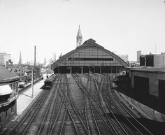 L.C.Y.: Old Philadelphia Broad Street Station - Train Shed and ...