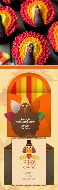 Paper invites are too formal, and emails are too casual. Get it just right with online invitations from Punchbowl. We've got everything you need for your Thanksgiving party.  http://www.punchbowl.com/online-invitations/category/25/?utm_source=Pinterest&utm_medium=17.8P