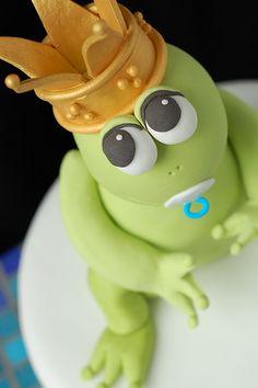 prince frog cake.