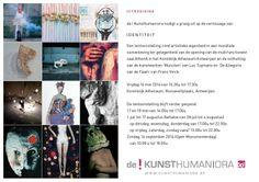 Tentoonstelling IDENTITEIT met o.a. werk van onze leerlingen in de nieuwe zaal 'AthenA', KA Antwerpen