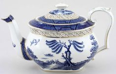 Booths Real Old Willow Teapot c1920s.  One of my favorites