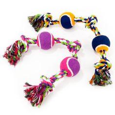 ToyShoppe® Knotted Rope 2-Tennis Tugger - PetSmart