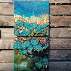 Acrylic artwork ,feel the fresh breeze of the sea diving into it The Fresh, Fresh Water, Sea Diving, Acrylic Artwork, Design Art, Turquoise Necklace, Blue Green, Abstract, Breeze