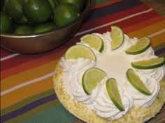 Best Key Lime Pie Recipe This is the decorating portion with stabilized whipped cream