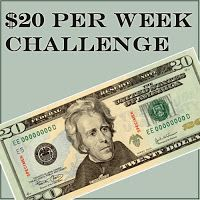 Could you survive on $20/week? One woman tests if she can, and blogs the results. If you're crunched for money, this might be a good exercise to try.