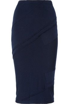 Donna Karan paneled jersey pencil skirt - I have fallen in love