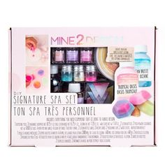 Shop for the Mine 2 Design™ DIY Signature Spa Set at Michaels Spa Day For Kids, Kids Spa, Spa Day At Home, Diy For Girls, Diy For Teens, Oasis, Signature Spa, Arts And Crafts Kits, Creative Bookmarks