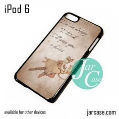 Peter Pan And Wendy Quote iPod Case For iPod 5 and iPod 6
