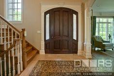SOLID WOOD ENTRY DOORS-DOORS FOR BUILDERS, INC traditional front doors