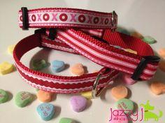 Valentine Dog Collars - so cute!  $15