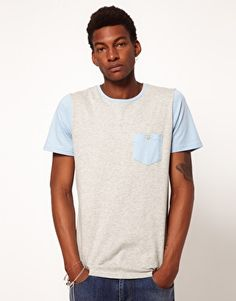 Native Youth | Native Youth T-Shirt With Chest Pocket at ASOS