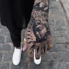 Men's fashion – H … – Tattoo Ideas Hand Tattoo Cover Up, Lion Hand Tattoo, Cute Hand Tattoos, Hand Tats, Hand Tattoos For Guys, Tattoos For Daughters, Cover Up Tattoos, Tattoos For Women, Bird Tattoos Arm
