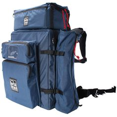 $702 Porta Brace BK-3EXP Modular Backpack Extreme Version with All Modules (Blue)