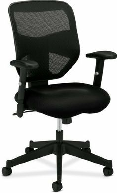basyx by HON HVL531 Mesh Back Work Chair, Black by basyx by HON. $139.88. Comfortable and breathable mesh back. Height-adjustable arms. Black sandwich mesh fabric seat. Swivel tilt mechanism with adjustable tilt tension accommodates users of all sizes. Pneumatic seat height adjustment. Featuring a black mesh back, a mesh fabric upholstered seat and a dynamic back design. The basyx by HON HVL531 presents quite a first impression. Then when you sit down, you real...