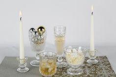 Sobriedad y elegancia en tu mesa en la celebración de Año Nuevo