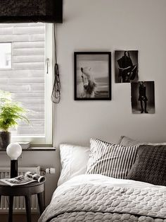 Shades of grey and white in a Stockholm space (via Bloglovin.com )