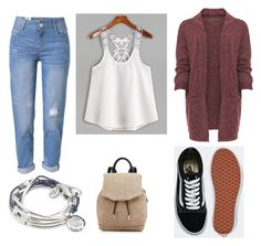 """""""Be nice"""" by stefi-mh-96 on Polyvore featuring WithChic, Lizzy James, rag & bone, WearAll, Vans and plus size clothing"""