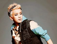YoungJae blond :)