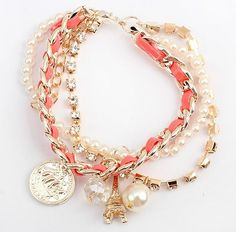 2013 Newest bracelets&bangles/New arrival bangles jewelry,Handmade fashion Rope Bracelet/Have 2 color-in Charm Bracelets from Jewelry on Ali...
