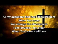 I Can Feel You - Bethel Music/Jenn Johnson (Worship song with Lyric