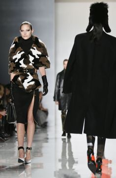 Michael Kors NY Fashion Week 2013.  I need this in my life..  Trend alert, camo, u will see it everywhere, I u haven't already