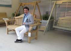 Diarmuid Gavin on our RHS Chelsea Centenary Bench  Chelsea Flower Show 2013
