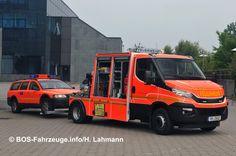 Feuerwehr Hamburg: Zwei neue Vorausrüstwagen für den Elbtunnel | Feuerwehr-Magazin