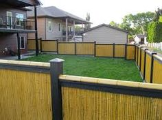 Get Beautiful Fence And Gate Design Ideas Winsome Wood Baby Gates For Stairs Page Bamboo Panels, Bamboo Fence, Wooden Fence, Fence Panels, Wood Baby Gate, Baby Gate For Stairs, Stair Gate, Reed Fencing, Garden Fencing