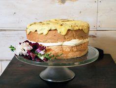 Grans Sponge with Passionfruit Icing | Dani Venn