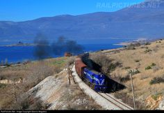 RailPictures.Net Photo: A-326 OSE Hellenic Railways Organization ALCO RSD34 at Arnissa, Greece by Giannis Magalios