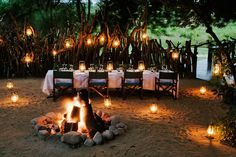 Wedding celebration decor, Lion Sands River Lodge ~ Sabi Sand Game Reserve, Greater Kruger National Park area, South Africa....