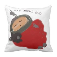 New baby boy little prince personalized throw pillow adorable pillow for babys room baby gifts child new born gift idea diy cyo special negle Images