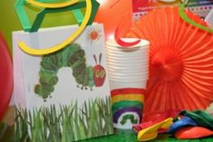 Premium Very Hungry Caterpillar Theme Party Box