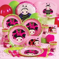 Ladybug Birthday Party package