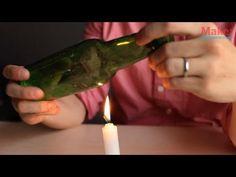 bottle cutting video
