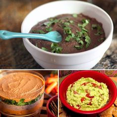 From Ranch to Hummus: 10 Healthy Dip Recipes