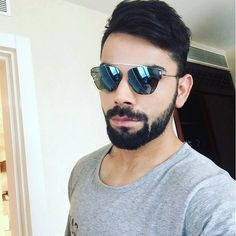 0c71af2953 12 Stunning Sunglasses Styles That Virat Kohli Loves
