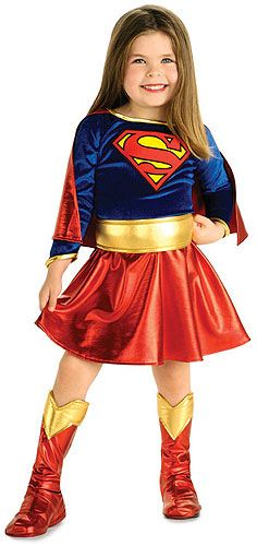 Child`s Toddler Super Girl Costume Dress  sc 1 st  Pinterest & 46 best DIY Supergirl Costume Ideas for TVu0027s Female Superhero images ...