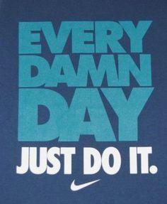 Motivation- No excuses!