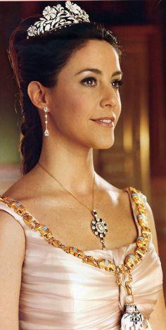 Princess Marie of the Danish Royal family.