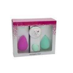 4-pièces d'éponge de maquillage du grossiste et import