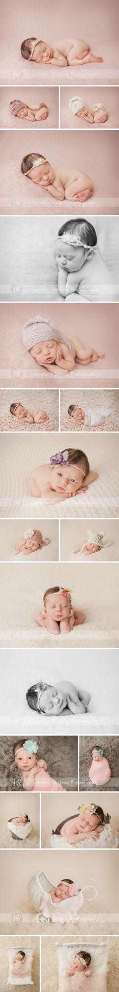 Newborn girl Metro Detroit Newborn Photographer Jennifer Hosking