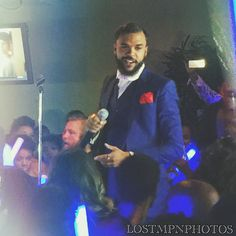 Dope show from @jidenna last night.  I thought this was a cool shot I got.  Word to the fake DOPE photographer *clink* #LOSTMPNPHOTOS #MPN